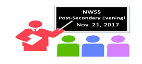 NWSS Post-Secondary Evening Nov. 21, 2017