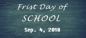 First Day of School Schedule (NWSS)