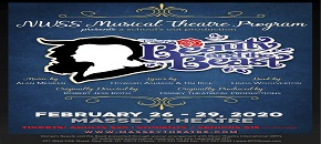 Beauty and the Beast February 26th to 29th Massey Theatre